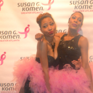 {Event Recap} Susan G.Komen #BubblesandBling Event featuring Ebony Steele