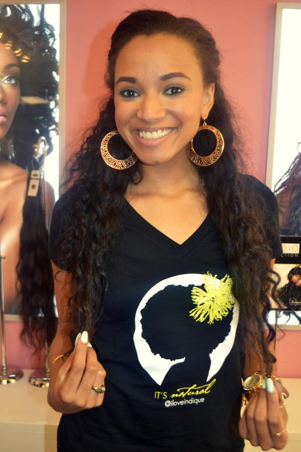 Indique Hair Curlfriendshow A Natural Girl Can Rock Natural