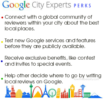 google-city-experts-perks-benefits-kiwithebeauty