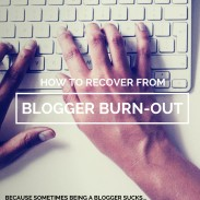 How to Recover from Blogger Burn-out: Don't Pull Your Hair Out Yet!