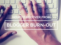 bloggerburnout