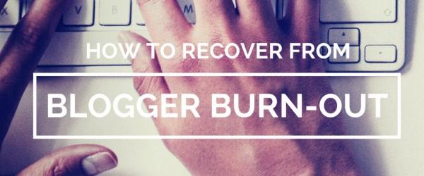 bloggerburnout