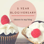 Happy 2 Year Blogiversary to Me!