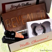 "{Beauty Review} Boxycharms ""Jingle Belles"" Subscription Box"