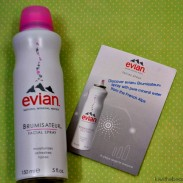 {Beauty Review} Refresh Your Face with Evian Natural Mineral Water Facial Spray