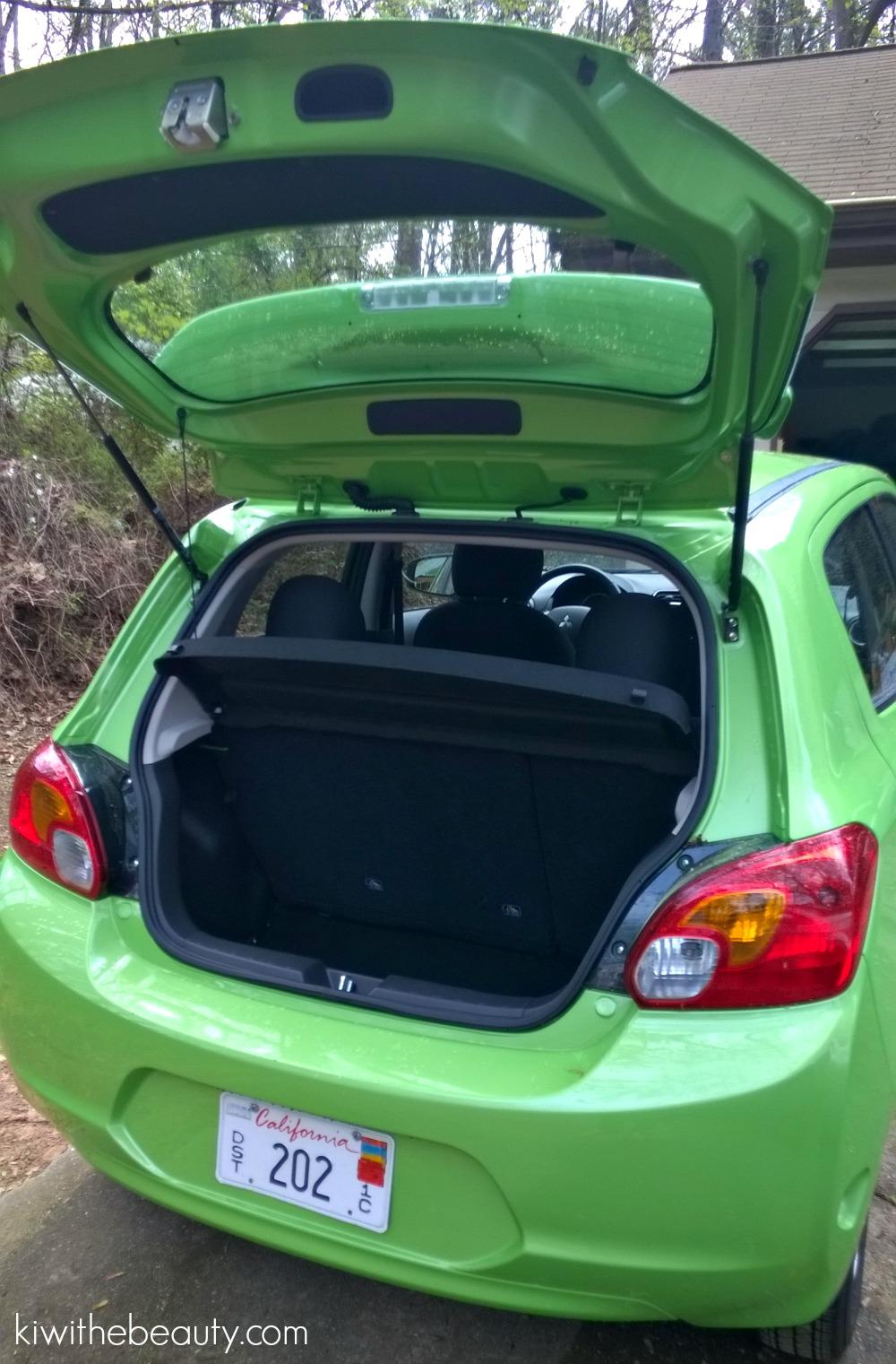 Car Review} Crusin\' & Color w/2015 Mitsubishi Mirage (Kiwi Green ...