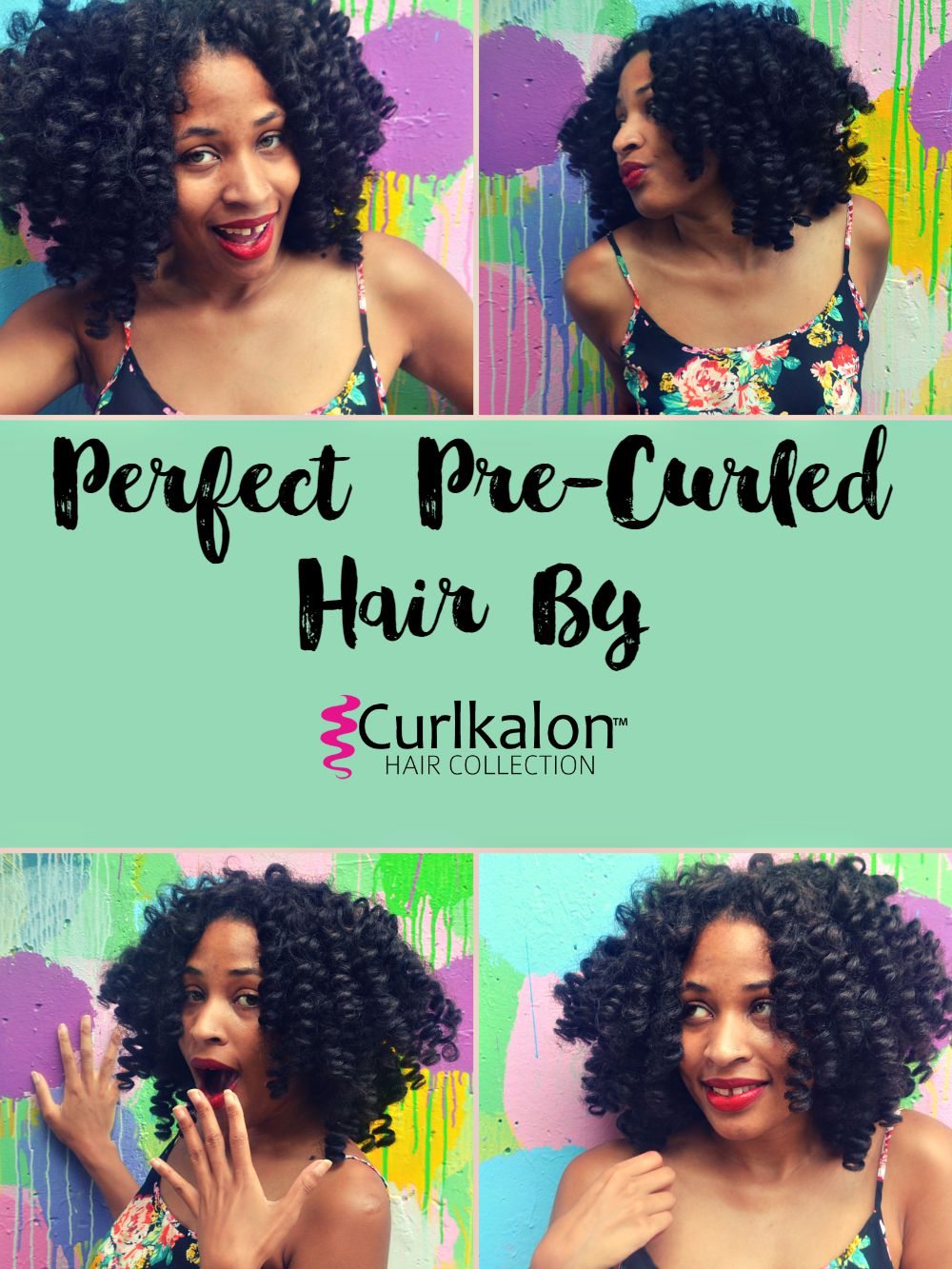 Crochet Hair Pre Curled : ... with Curlkalon Crochet Braids - Kiwi The Beauty / Kiwi The Beauty