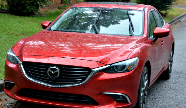 Car Review Painting The Town Red In The New 2016 Mazda 6 Kiwi