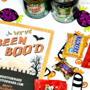 Chic o' Treat BOO Bucket for Halloween | #BooItForward