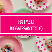 3 Major Accomplishments + 3rd Year Blogiversary
