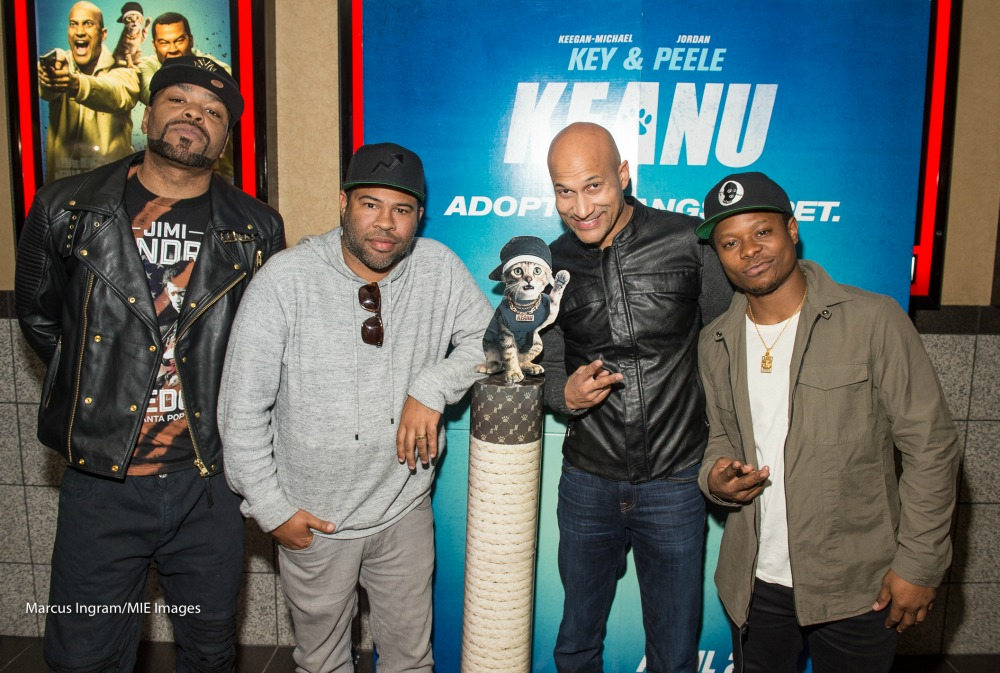 Method Man - Jordan Peele - Keegan-Michael Key - Jason Mitchell