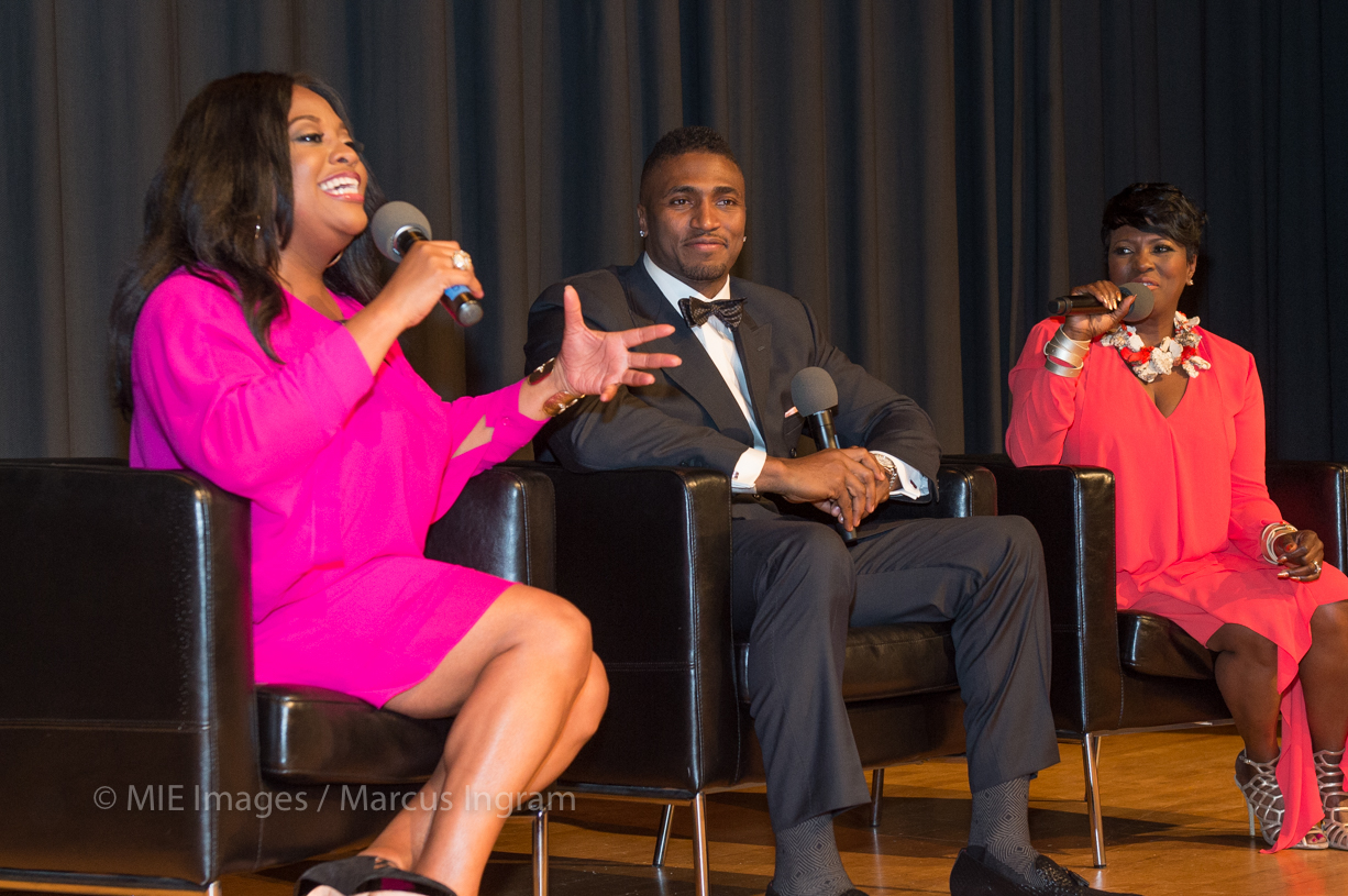 Q&A moderated by Sherri Shepherd