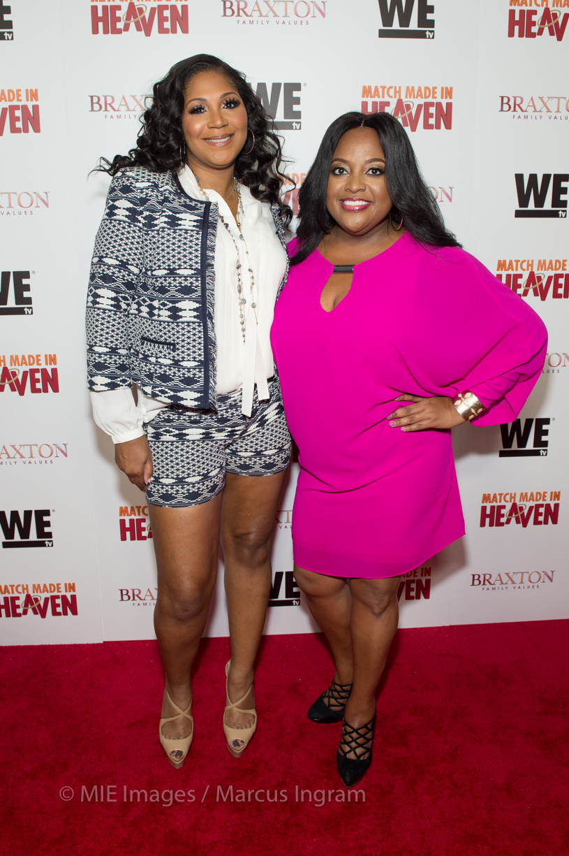 Trina Braxton and Sherri Shepherd