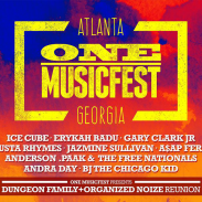 ONE MUSIC FEST 2016| Erykah Badu, Ice Cube, Dungeon Family Reunion and more! #OMG2016