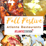 4 Fall Festive Restaurants to Try in Atlanta (Atlantic Station)