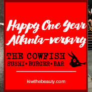 Happy 1 Year Anniversary to The Cowfish Atlanta