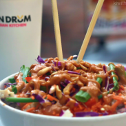 IT'S A CELEBRATION WITH TIN DRUM CONFETTI RICE BOWL