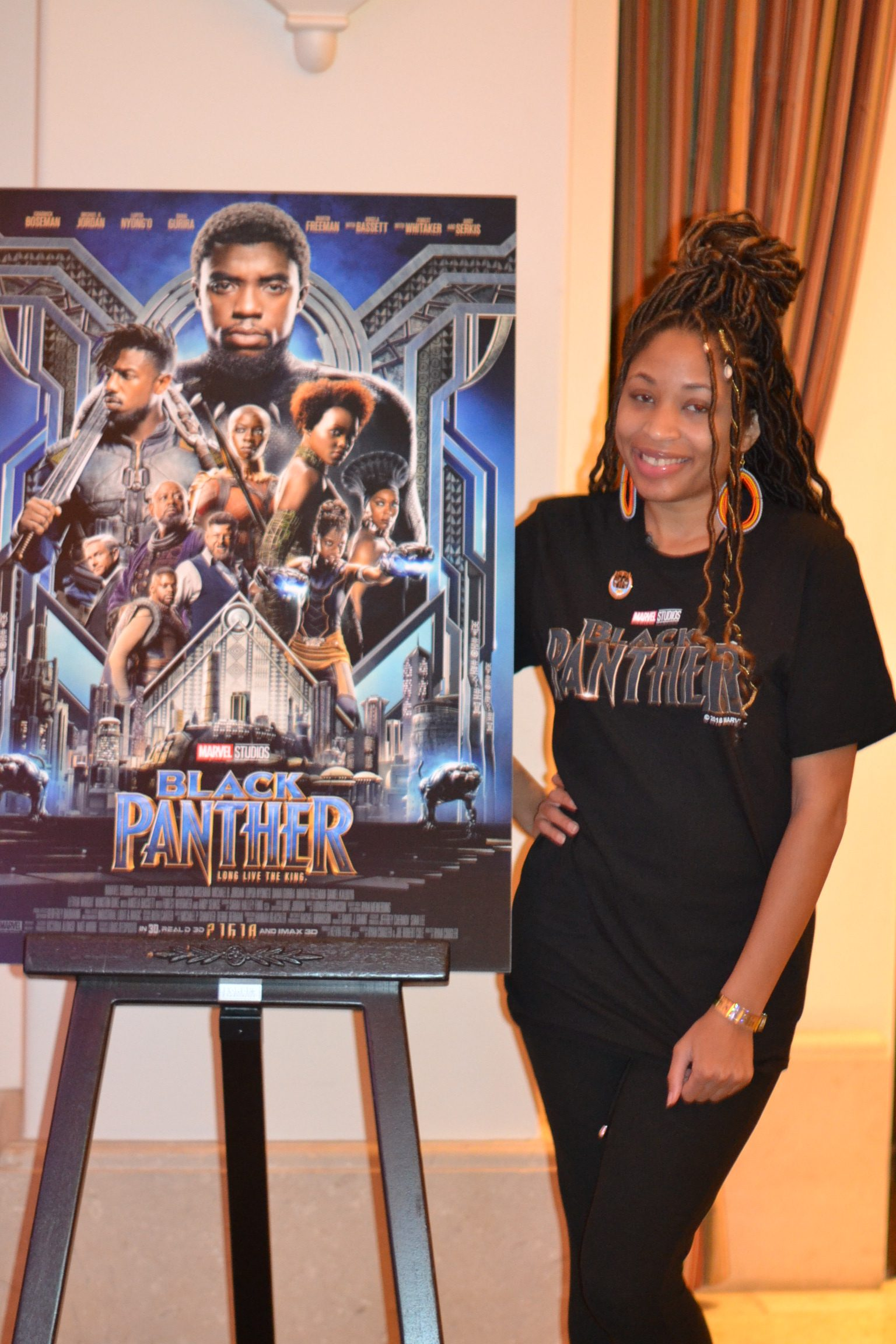 My experience and highlights from marvel studios black panther i got a chance to attend the marvel studios black panther global press junket press conference where the entire cast showed up for a qa ccuart Image collections