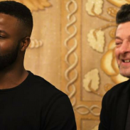 [INTERVIEW] CHATTING WITH MARVEL'S BLACK PANTHER STARS WINSTON DUKE AND ANDY SERKIS #BLACKPANTHEREVENT #BLACKPANTHER
