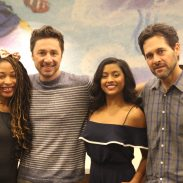 [INTERVIEW] ABC's Alex,INC. A Multicultural Family Sitcom: Chatting with Stars Zach Braff and Tiya Sircar
