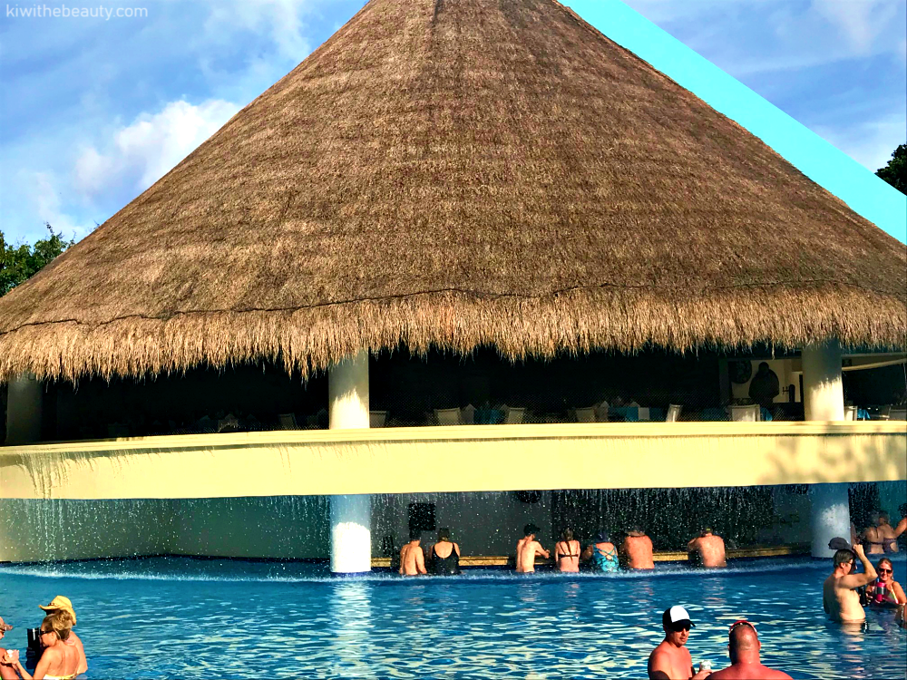 The Resort Houses Five Pools Including An Adult Only Saltwater Pool Which Offers Views Of Caribbean My Favorite Area Was A Swim Up Bar Lagoon