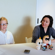 Exclusive Interview with the Voices of Disney/Pixar Incredibles 2: Violet Parr (Sarah Vowell) & Dash Parr (Huck Milner) #Incredibles2Event