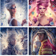 """Disney's The Nutcracker and the Four Realms"""" Colorful Character Posters"""