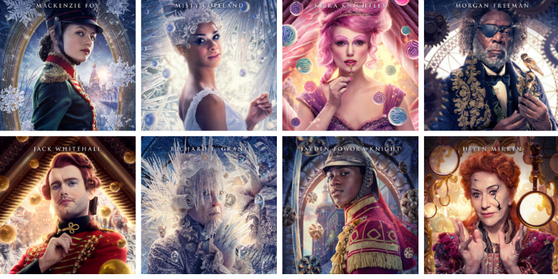 "Disney's The Nutcracker and the Four Realms"" Colorful ..."