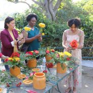 Hunny Pot Floral Arrangements Class Inspired by Christopher Robin Movie | #ChristopherRobinBluRay