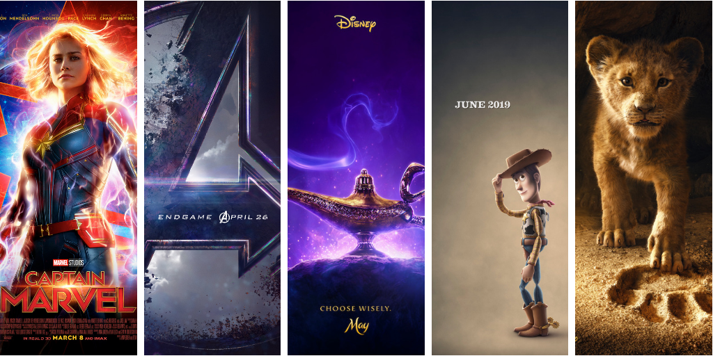 Disney's 2019 Must See Movie Line Up! - Kiwi The Beauty ...