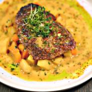 Where to Eat in Downtown Atlanta: SEAR (Atlanta Marriott Marquis)