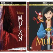 Bring Home The Legend of Disney's Live-Action & Animated Mulan Comes to 4K Ultra HD™, Blu-ray™ and DVD | Giveaway